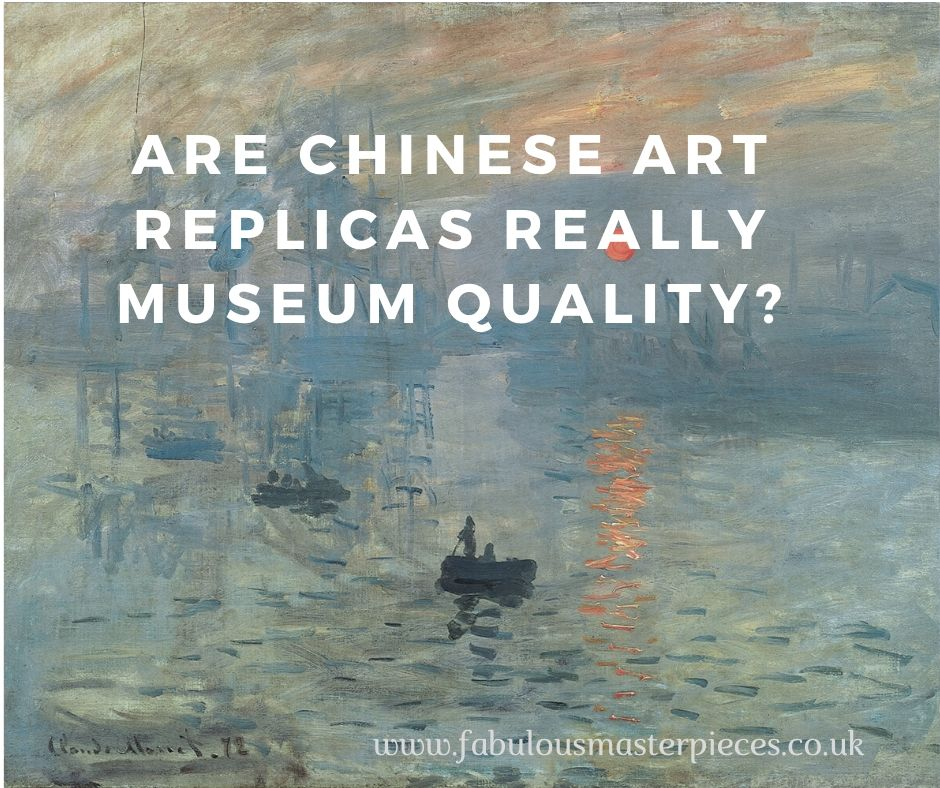 are chinese art replicas cheap