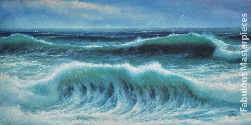 Breaking Waves David James