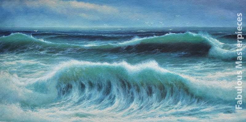 Breaking Waves David James