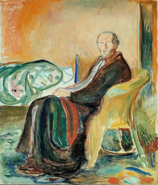 Edvard Munch The Spanish Flu