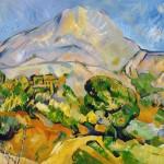 La montagne Sainte Victoire art-replica