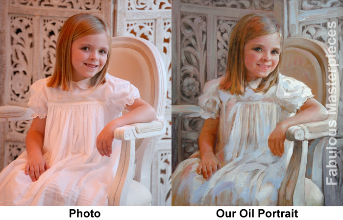 oil portraits from photos