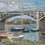 Monet La Seine at Argenteuil