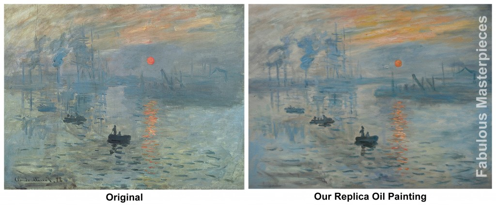 monet impression sunrise painting