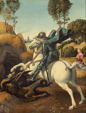raphael saint george and the dragon