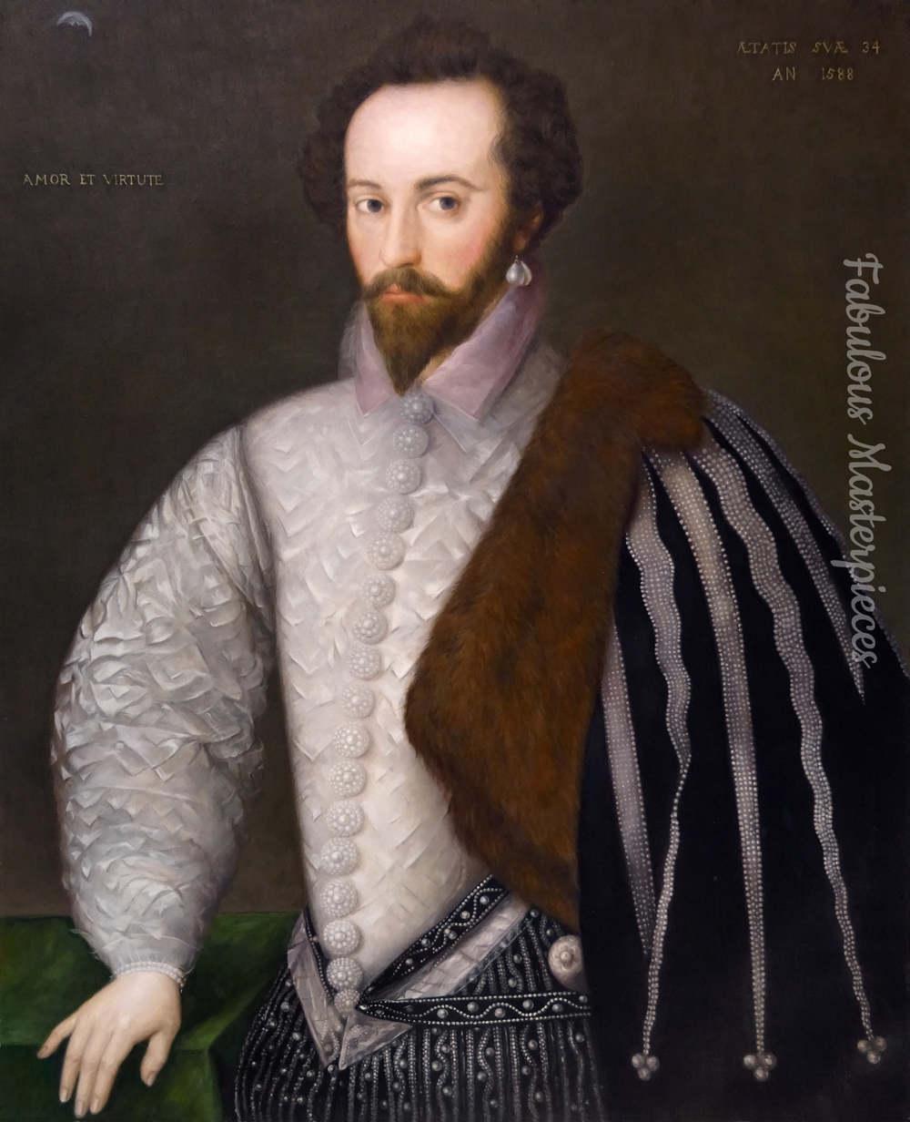 Sir Walter Raleigh Portrait
