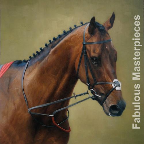 stubbs style horse painting