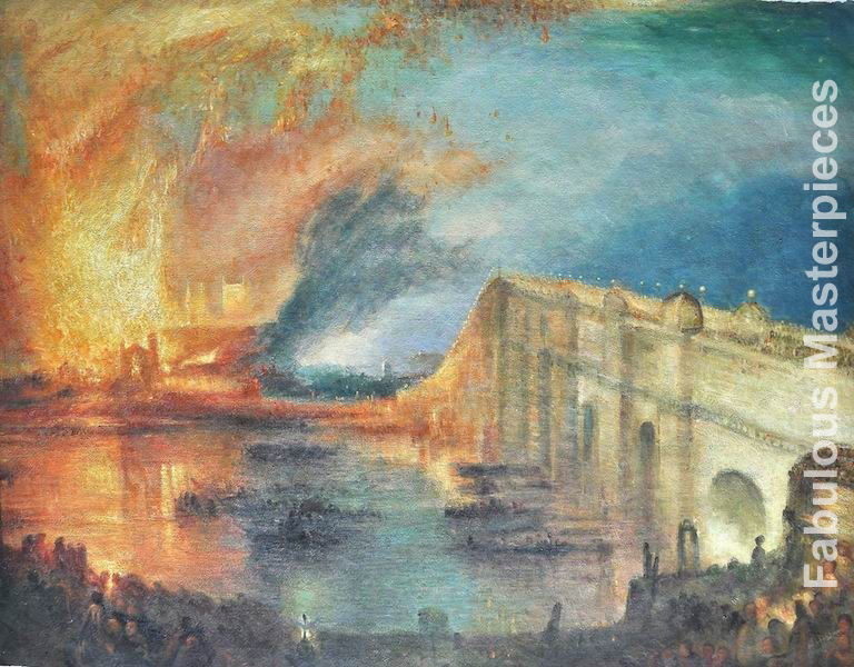 Turner THE BURNING OF THE HOUSE OF LORDS AND COMMONS
