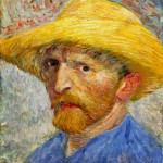Van Gogh - Self Portrait with Straw Hat
