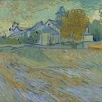 Van-Gogh-The-Vue-de-l-Asile-et-de-la-Chapelle-de-Saint-Remy