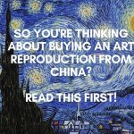 art copies famous painitngs china