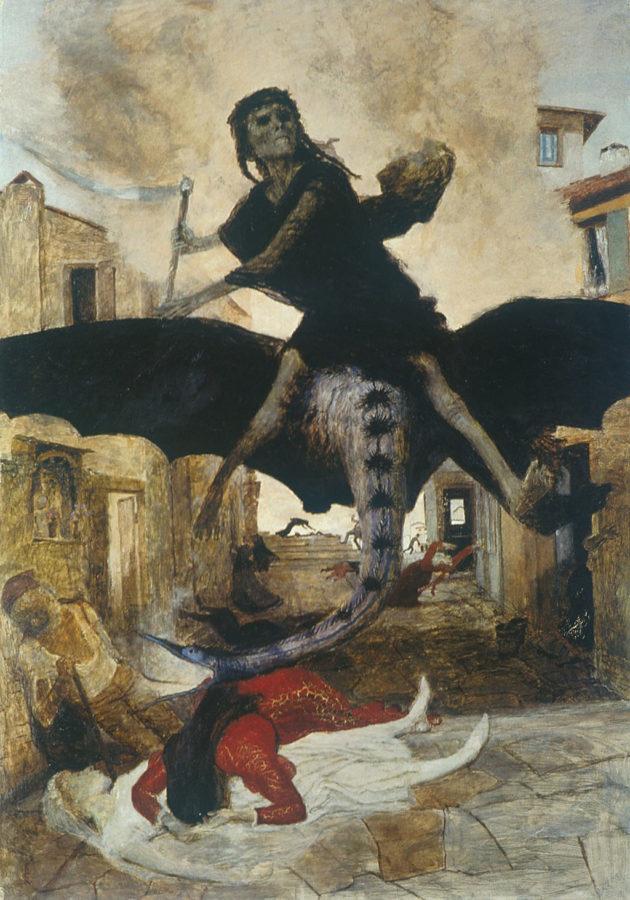 arnold bocklin the plague
