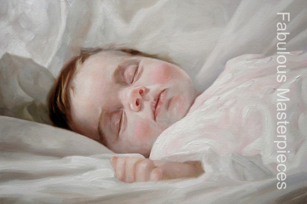 Fabulous Masterpieces Blog 187 Beautiful Baby Oil Paintings