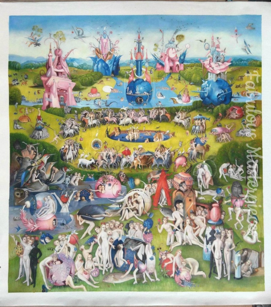 bosch garden earthly delights replica