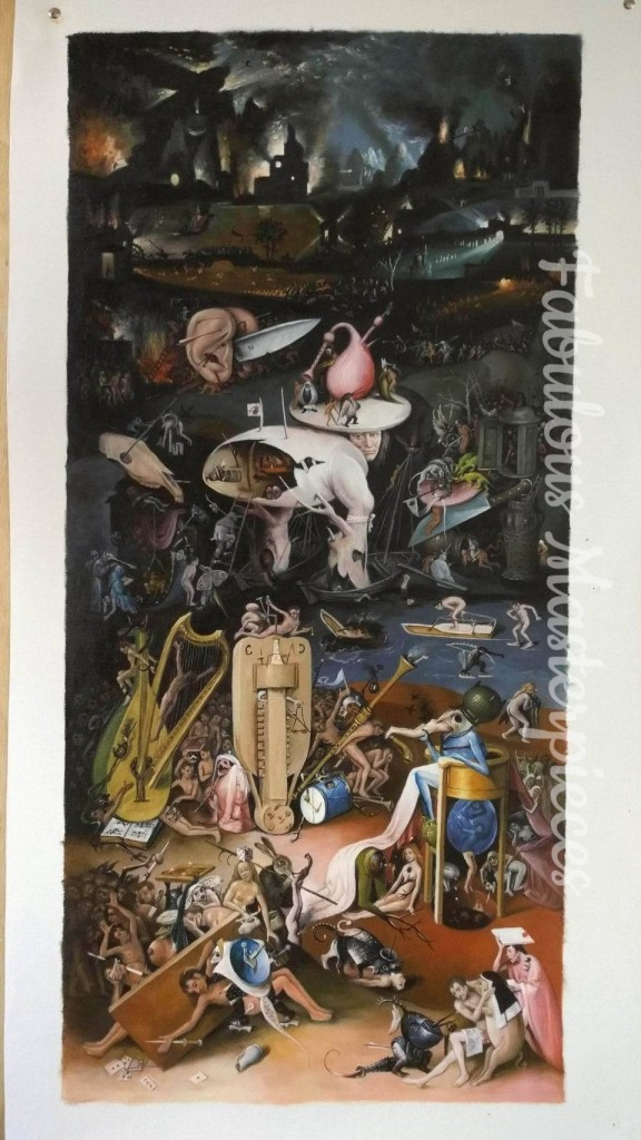 bosch garden of earthly delights replica