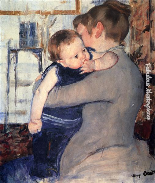 cassatt mother and child