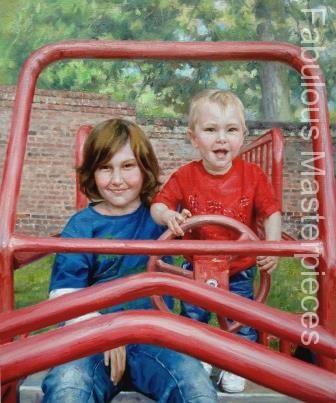 child portrait paintings
