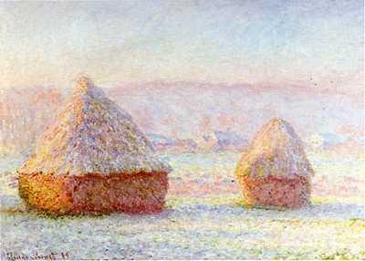 Claude Monet Haystacks