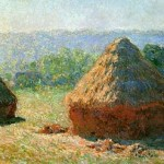 Claude Monet The end of summer morning effect (haystacks)