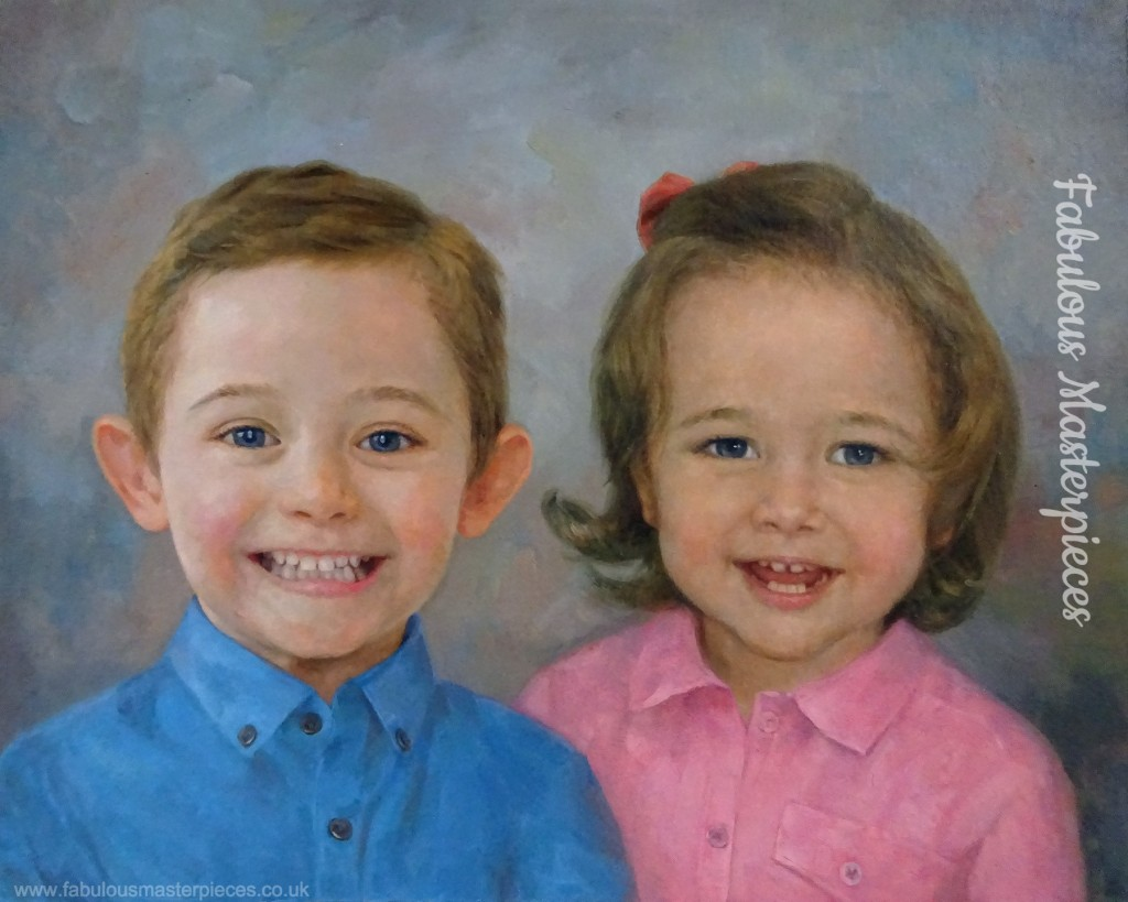 custom portrait commissions