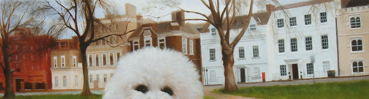 Bichon paintings