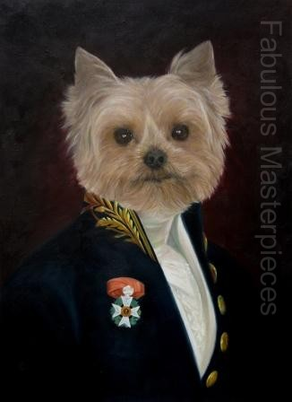 I think we can all remember those world-famous dogs in costumes playing poker that were painted by Coolidge. One of those paintings even appeared in the ... & Dogs in Uniform | Dogs in Costume | Poncelet Style Dog portraits ...