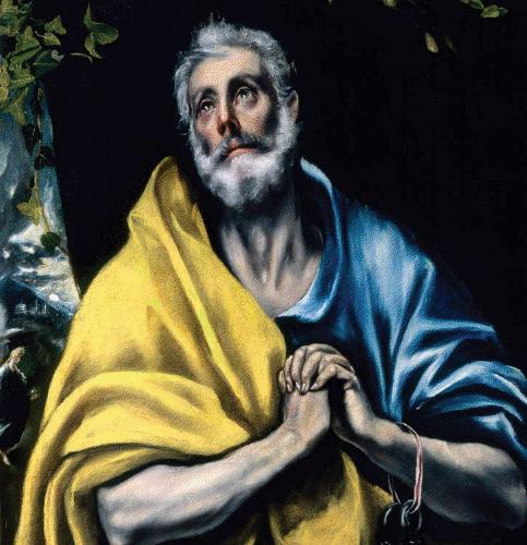 peter the apostle by el greco