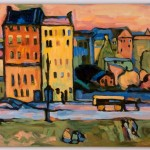 Kandinsky houses in munich
