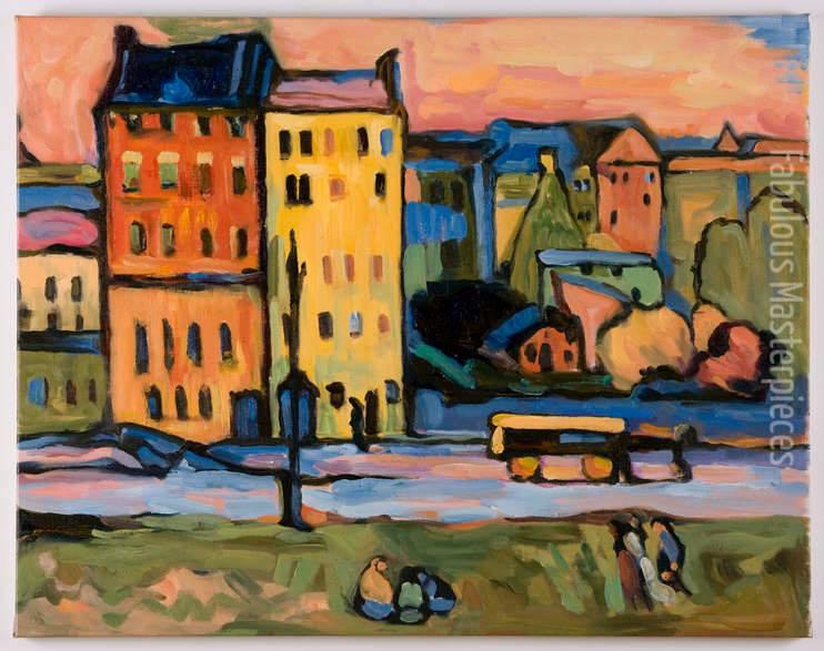 Kandinsky houses in munich