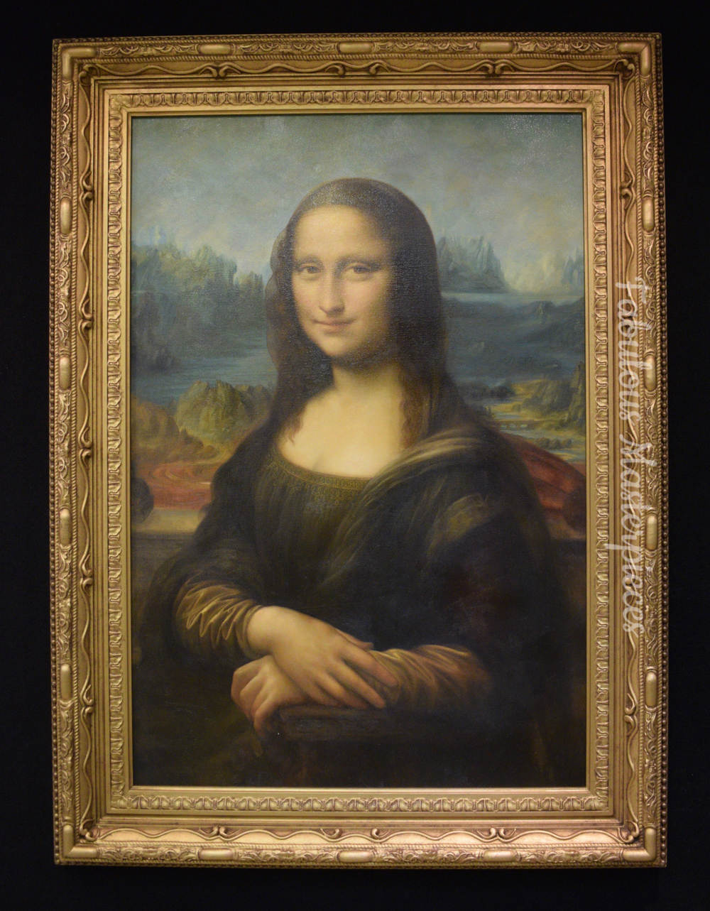 mona lisa art replica