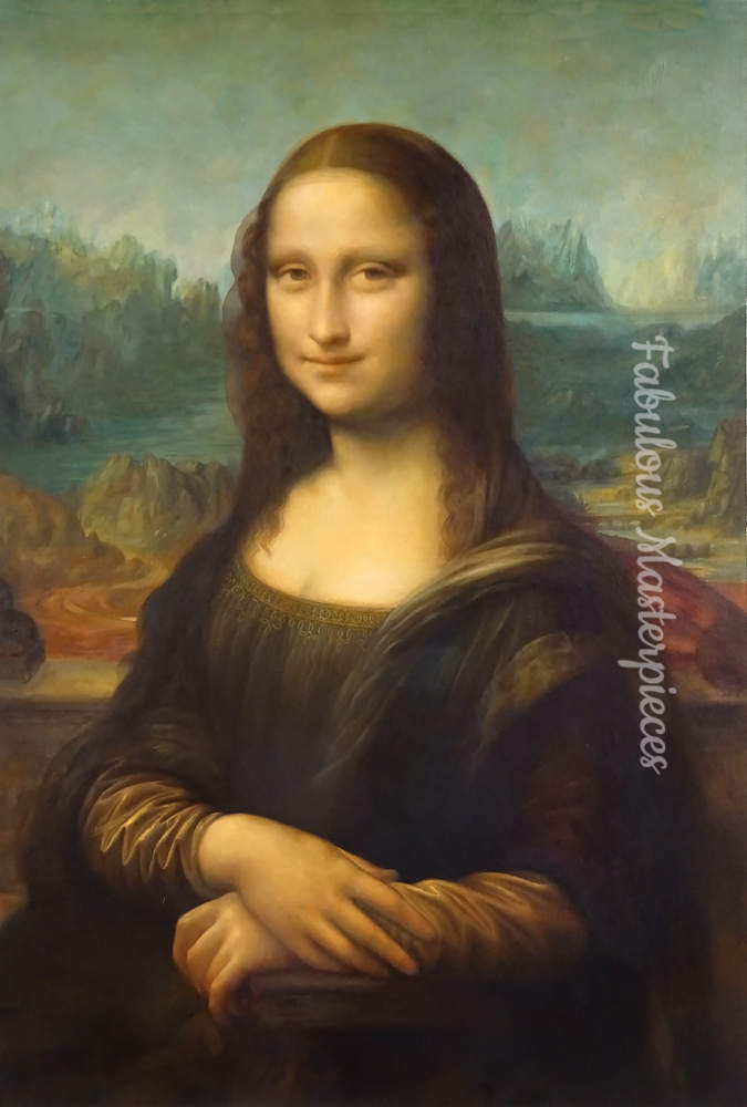 mona lisa replica