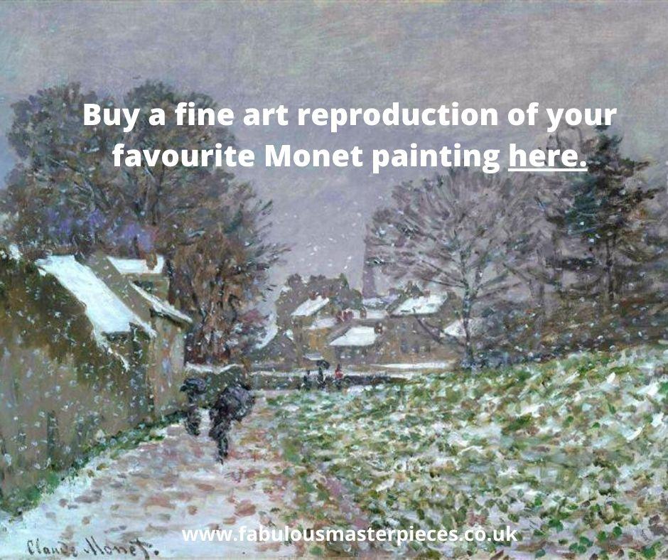 buy monet art reproduction