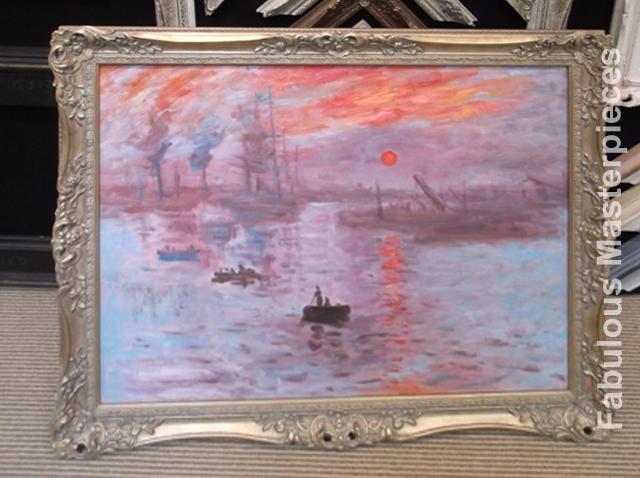 Monet impression sunset