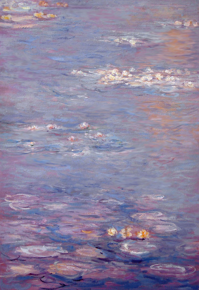 an art analysis of water lilies Water lilies (monet series) claude monet, the water lilies - the clouds, 1920–1926, musée de l  water lilies at the portland art museum.
