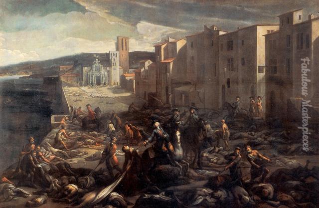 plague paintings