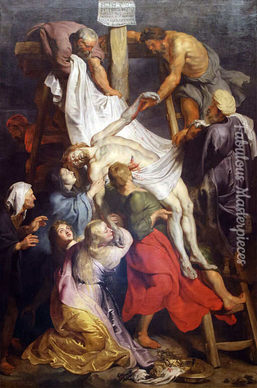 rubens the descent from the cross