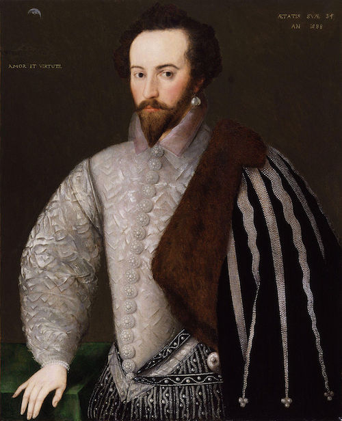 sir walter raleigh painting