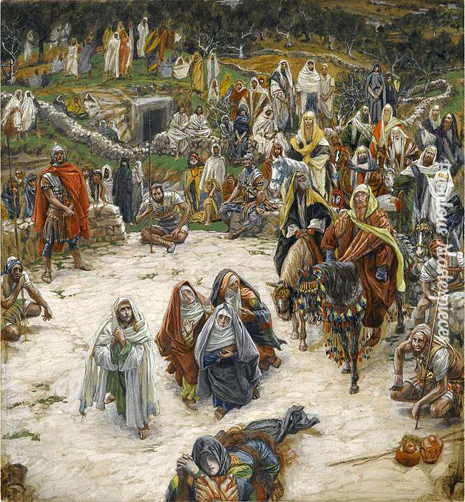 tissot what our lord saw from the cross