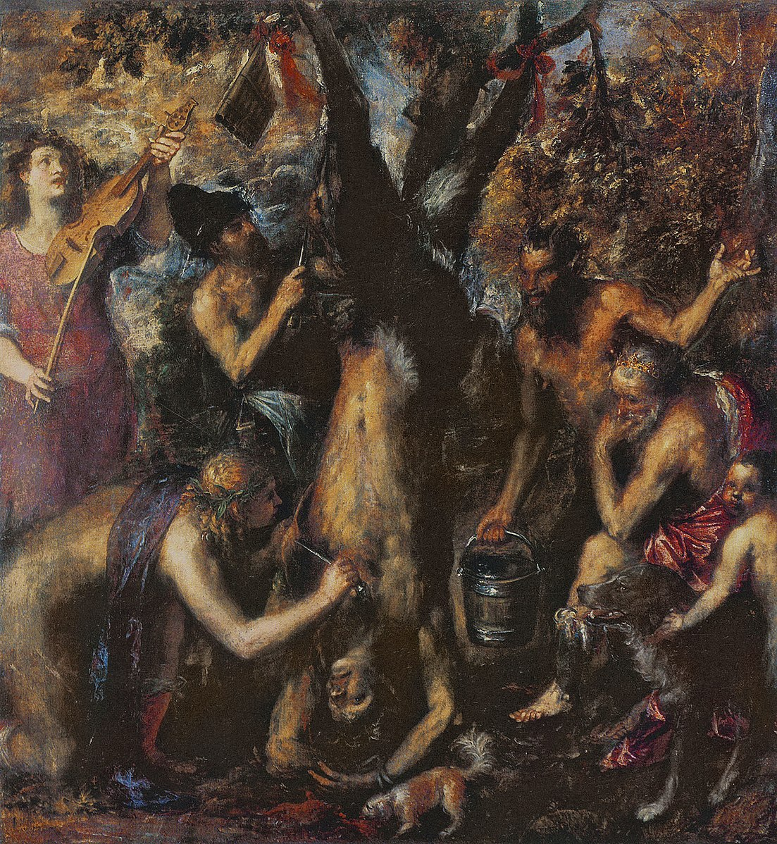 titian the flaying of marsyas