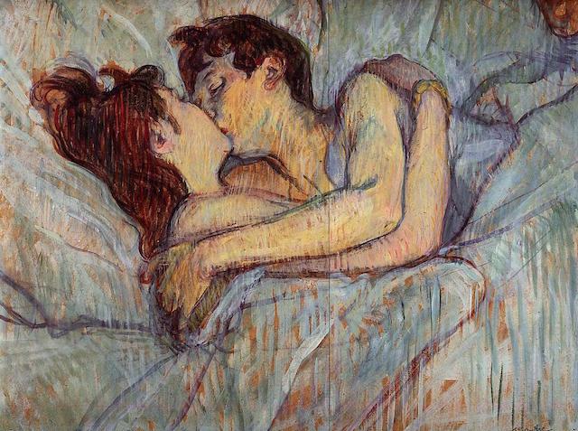 Toulouse Lautrec The Kiss