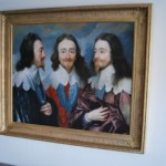 Van Dyck Charles I, King of England from Three Angles