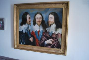 Van Dyck Charles I, King of England from Three Angles