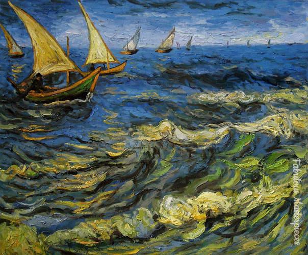 van gogh seascape