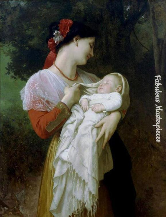 famous mother and child paintings