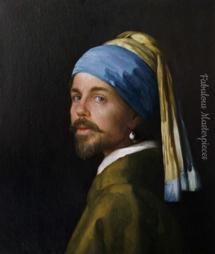 have yourself painted as girl with a pearl earring